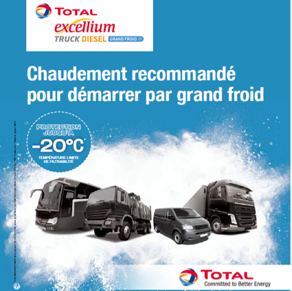 TOTAL EXCELLIUM TRUCK DIESEL - Grand Froid